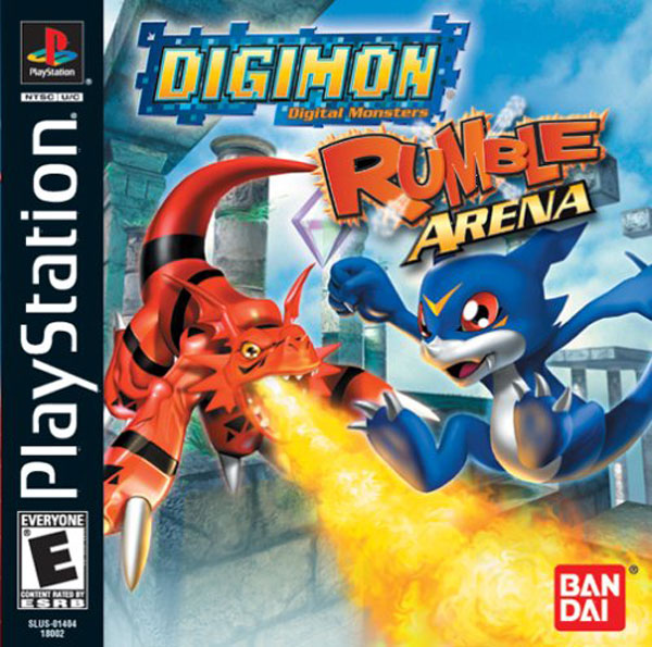 Digimon Rumble Arena [U] Front Cover